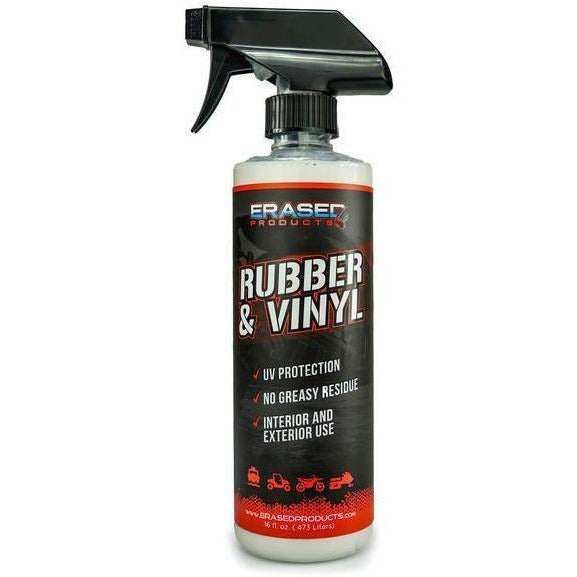 Erased Rubber & Vinyl Spray Cleaning Products Erased