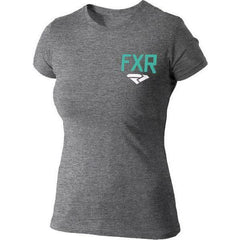 FXR Sway Women's T-shirt | Sale T-Shirt FXR Grey Heather/Mint Small