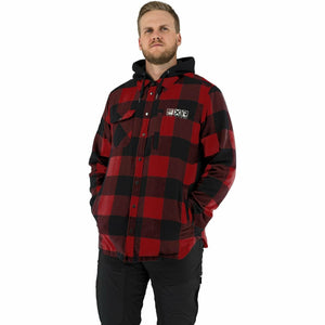 FXR Timber Insulated Men's Flannel Jacket 21 FXR 2021 Rust/Black S