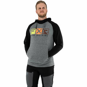 FXR Trainer Lite Tech Men's PO Hoodie 21 FXR 2021 Char Heather/Black S