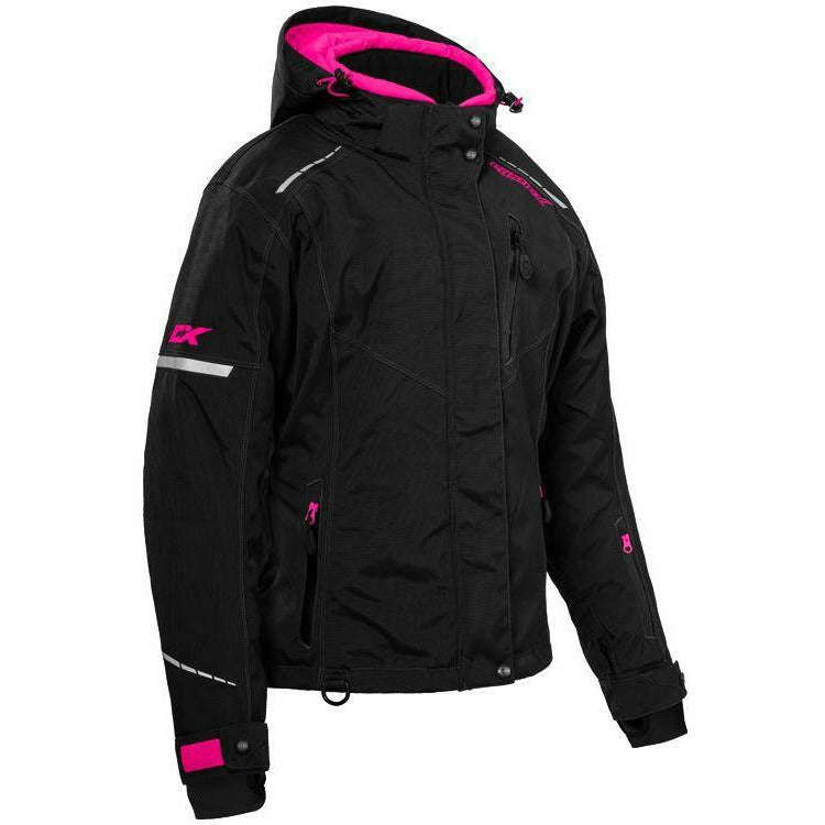 Castle X W Polar Jacket 21 Jacket Castle BLK/PK-GLO 2XL