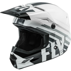 Fly Racing Kinetic Thrive Helmet 2020 Helmet Fly Racing WHITE/BLACK/GREY 2X