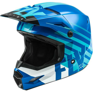 Fly Racing Kinetic Thrive Helmet 2020 Helmet Fly Racing BLUE/WHITE 2X