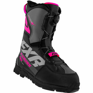 FXR X-Cross Pro Flex BOA Boot 21 FXR 2021 Black/Fuchsia M4/W6/36