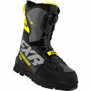 FXR X-Cross Pro Flex BOA Boot 21 FXR 2021 Black/Hi Vis M4/W6/36