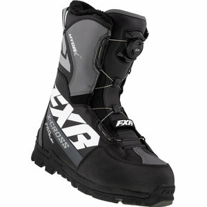 FXR X-Cross Pro Flex BOA Boot 21 FXR 2021 Black/White M4/W6/36