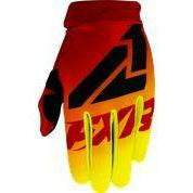 FXR Yth Clutch Strap MX Glove 21 FXR 2021 Hi Vis/Red S