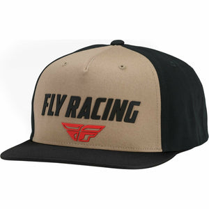 Fly Racing Evo Hat 21 Hat Fly Racing KHAKI/BLACK OS