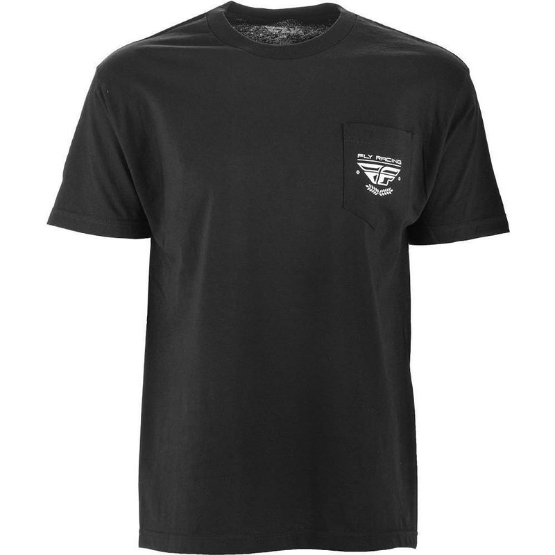 Fly Racing Pocket Tee T-Shirt Fly Racing BLACK 2X