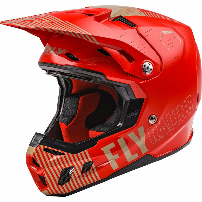 Fly Racing Formula CC Primary Helmet 21 Fly Racing 2021 RED/KHAKI 2X