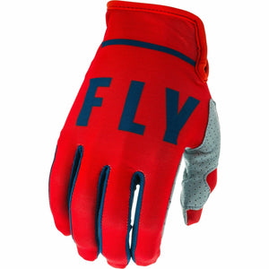 Fly Racing Youth Lite Gloves Fly Racing Off-Road Red/Slate/Navy 4
