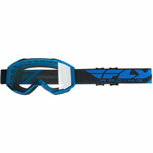 Fly Racing 2019 Focus Goggle Goggles Fly Racing BLUE W/CLEAR LENS Youth