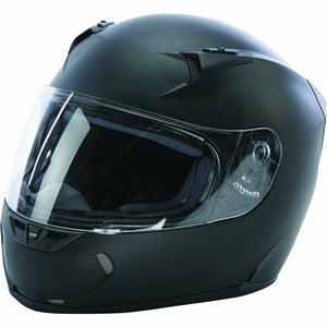 Fly Racing Revolt FS Solid Street Helmet Helmet Fly Racing MATTE BLACK LG