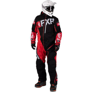 FXR Ranger Insulated Men's Mono 2020 Monosuit FXR 2020 Black/Red/Lt Grey XS