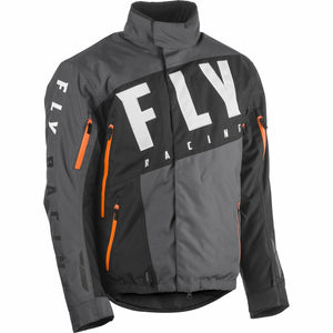 Fly Racing SNX Pro Jacket 2020 Jacket Fly Racing BLACK/GREY/ORANGE 2X