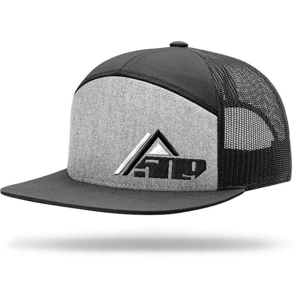 509 Access 7 Panel Trucker Hat Hat 509 Gray Access
