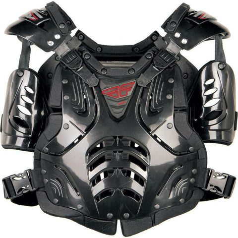 Fly Racing Convertible II Adult/Junior Roast Guard Body Armor Fly Racing BLACK ADULT