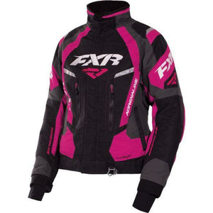 FXR Adrenaline Womens Jacket | Clearance Jacket FXR Blk/Char/Wineberry 4