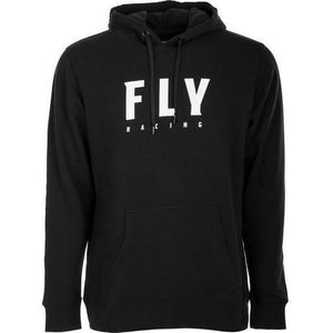 Fly Racing Badge Pullover Hoodie 2020 Casual Fly Racing BLACK 2X