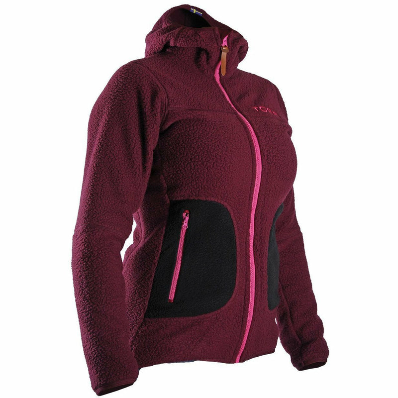 TOBE Aura Fleece Hood W TOBE Aura Fleece Hood W Purple 2XS