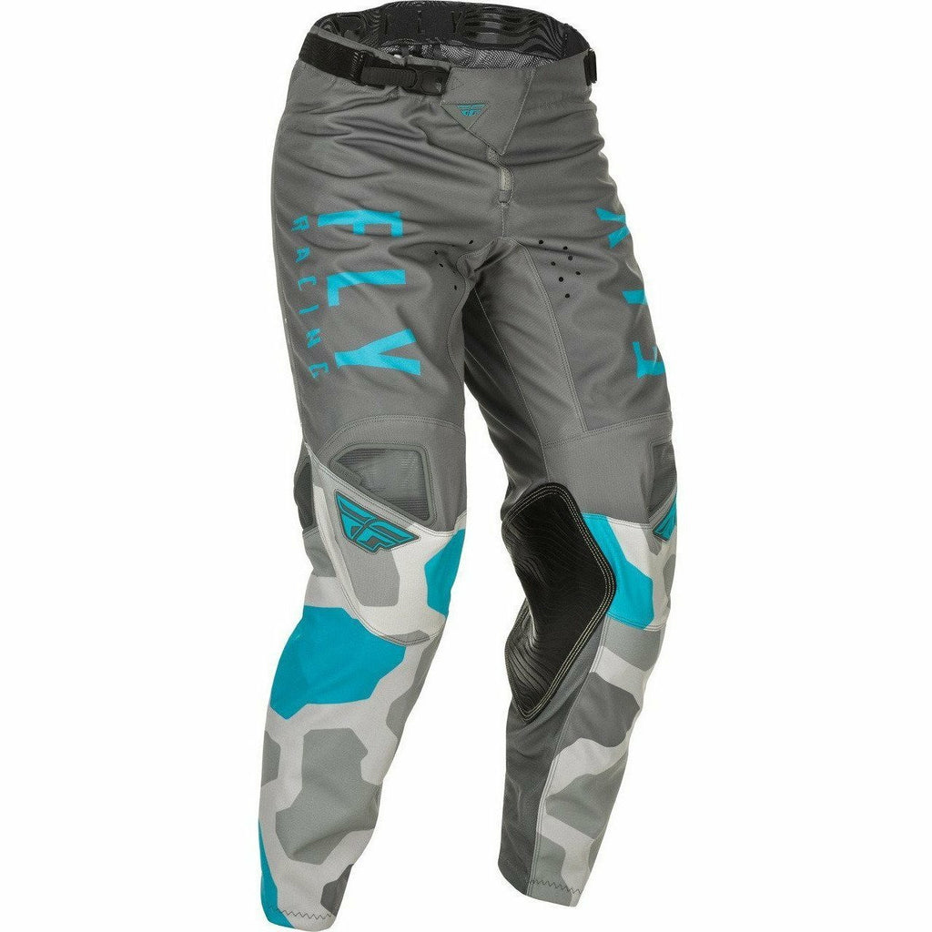 Fly Racing Kinetic K221 Pants 21 Fly Racing 2021 GREY/BLUE 28
