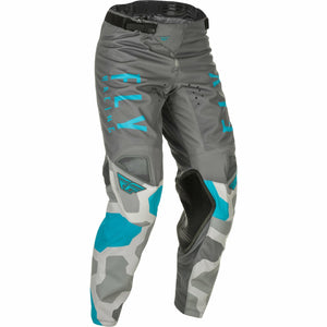 Fly Racing Youth Kinetic K221 Pants 21 Fly Racing 2021 GREY/BLUE 18