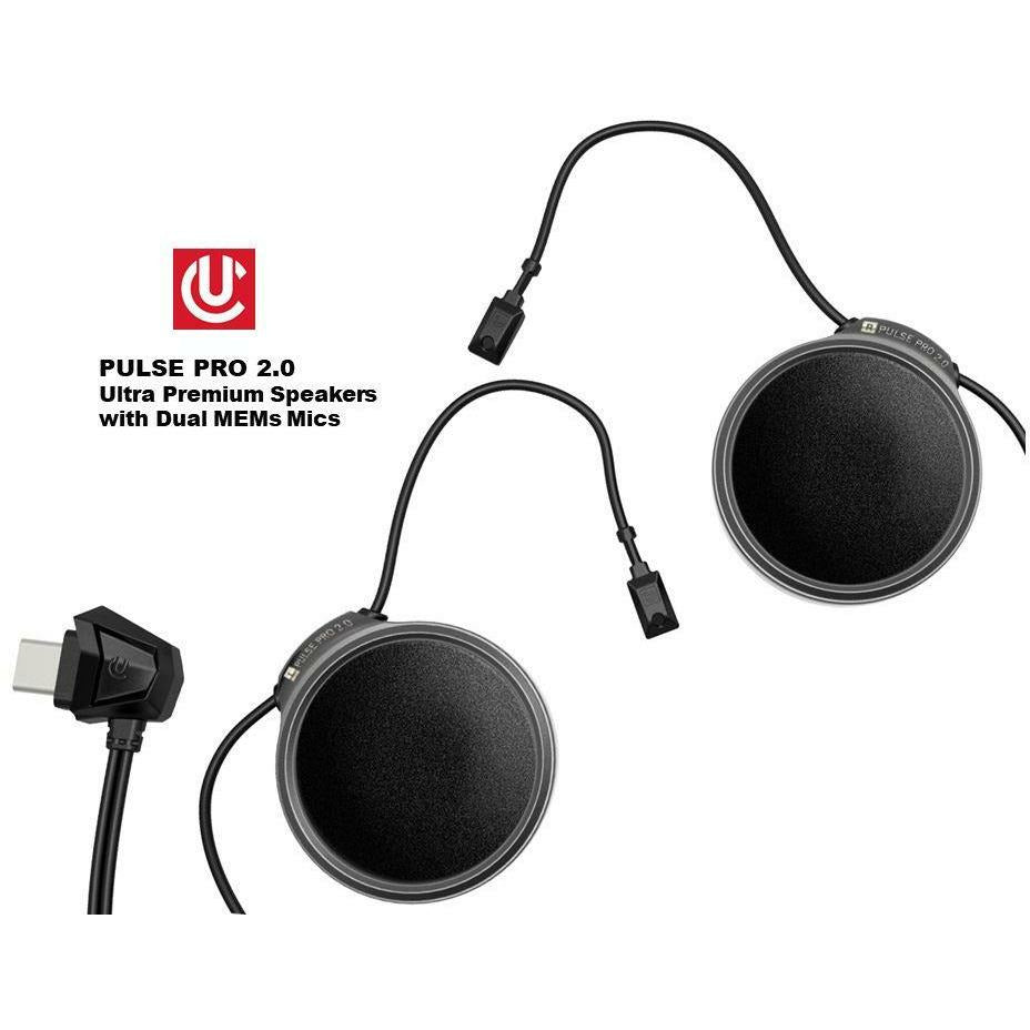 UCLEAR Pulse Pro 2.0 Spearker/Mic Kit Communication UCLEAR