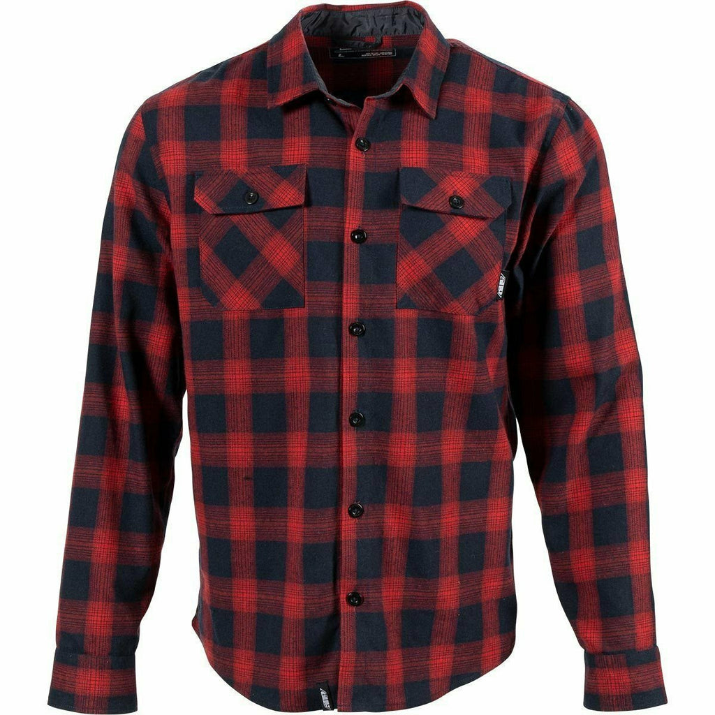 509 Basecamp Flannel Shirt 21 Casual 509 Red and Navy 21 SM
