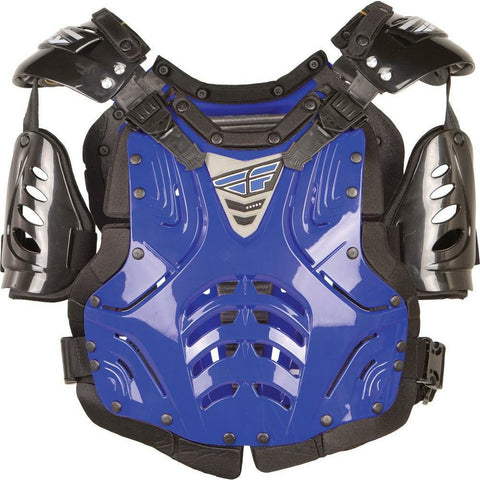 Fly Racing Convertible II Adult/Junior Roast Guard Body Armor Fly Racing BLUE JUNIOR