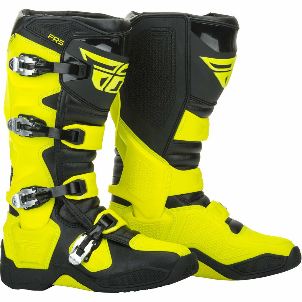 Fly Racing FR5 Boots Footwear Fly Racing HI-VIS YELLOW 13