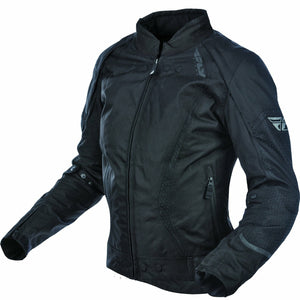 Fly Racing Women's Motocross Butane Jacket Jacket Fly Racing BLACK XL
