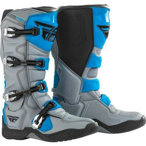 Fly Racing FR5 Boots 21 Footwear Fly Racing Grey/Blue 21 7