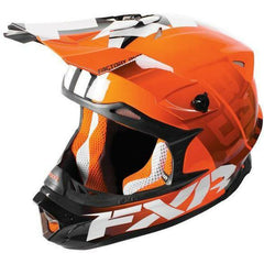 FXR Blade Moto Race Div Helmet Helmet FXR Orange X-Small
