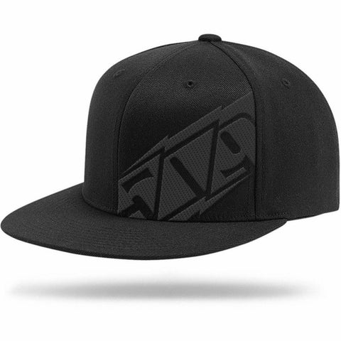 509 Bolts Flat Bill Snapback Hat Hat 509 BOLTS BLACK
