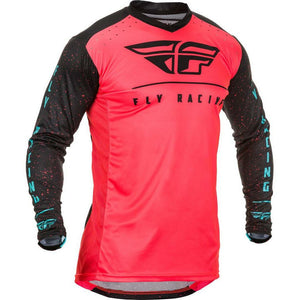 Fly Racing Lite Jersey Jersey Fly Racing Coral/Black/Blue SM