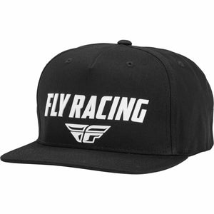 Fly Racing Evo Hat 21 Hat Fly Racing BLACK/WHITE OS