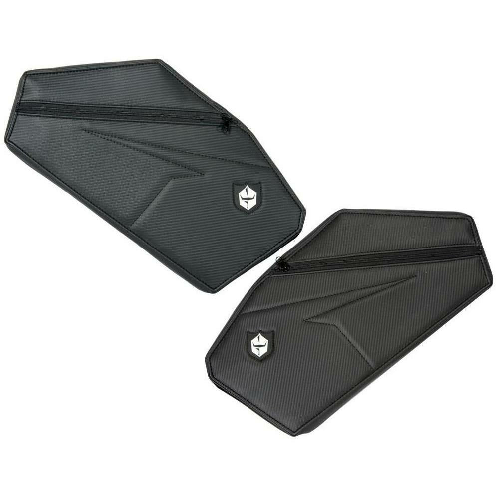PRO ARMOR REAR DOOR KNEE PADS WITH STORAGE POL Cargo PRO ARMOR 67-10321BL