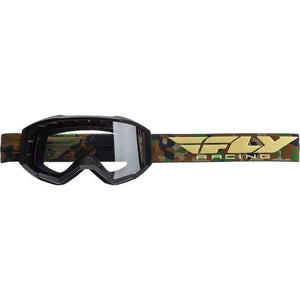 Fly Racing Focus Goggle Goggles Fly Racing CAMO W/CLEAR LENS ADULT