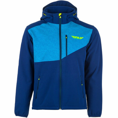 Fly Racing Checkpoint Jacket Jacket Fly Racing BLUE/HI-VIS 2X