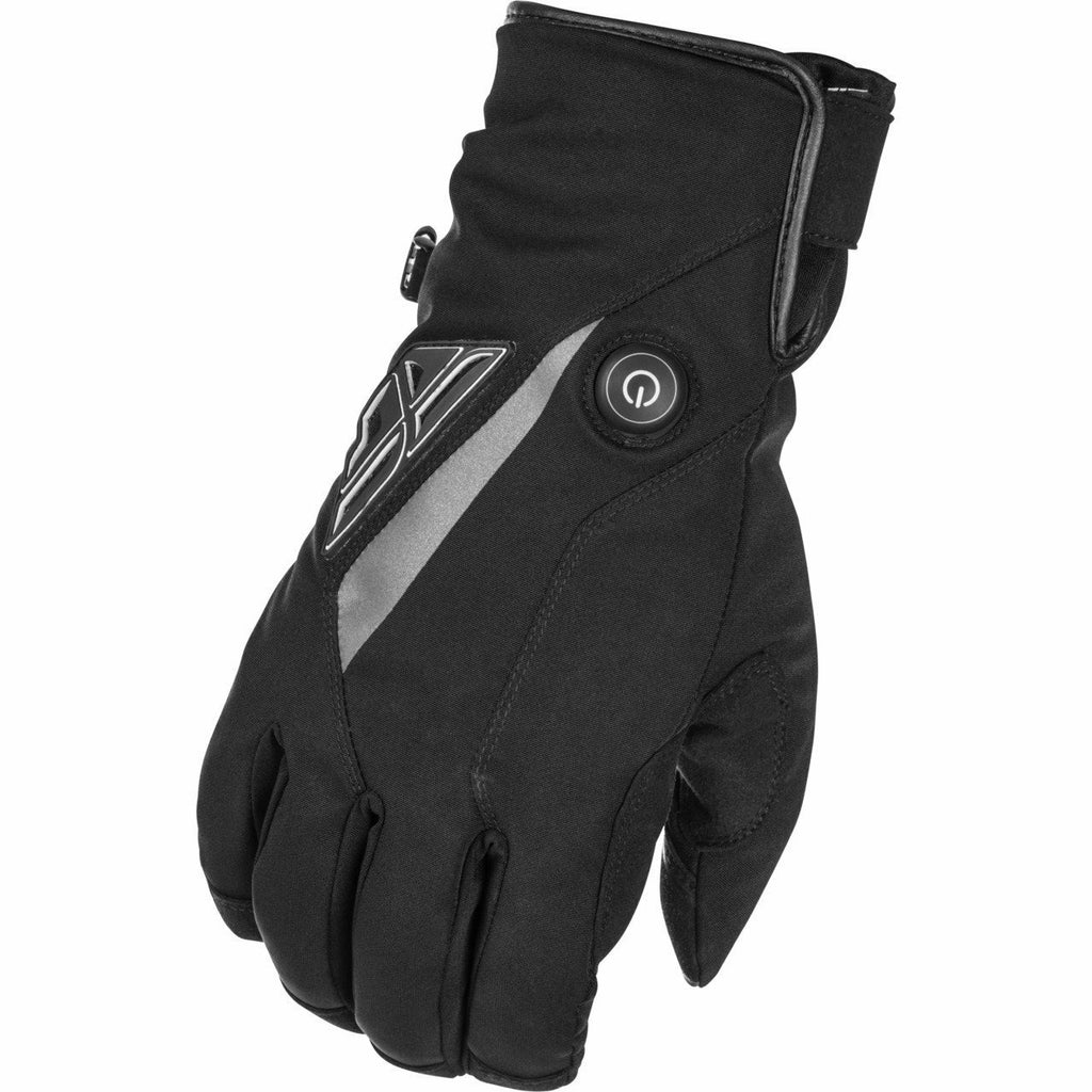 Fly Racing Title Heated Gloves 2020 Fly 2020 BLACK 2X