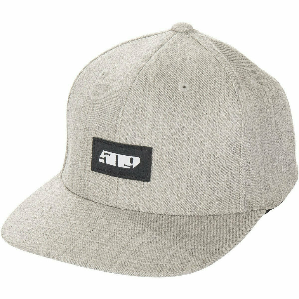 509 Central Flex Fit Snapback Hat 2020 Hat 509 Gray Twill