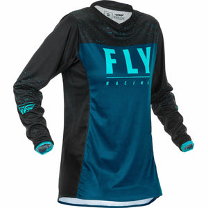 Fly Racing Women's Motocross Lite Jersey Jersey Fly Racing Navy/Blue/Black YL