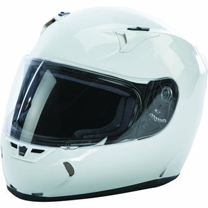 Fly Racing Revolt FS Solid Street Helmet Helmet Fly Racing GLOSS WHITE 2X