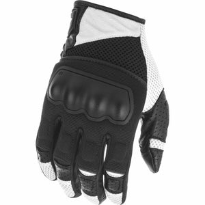 Fly Racing Coolpro Force Gloves 21 Fly Racing 2021 Black/White 21 2X