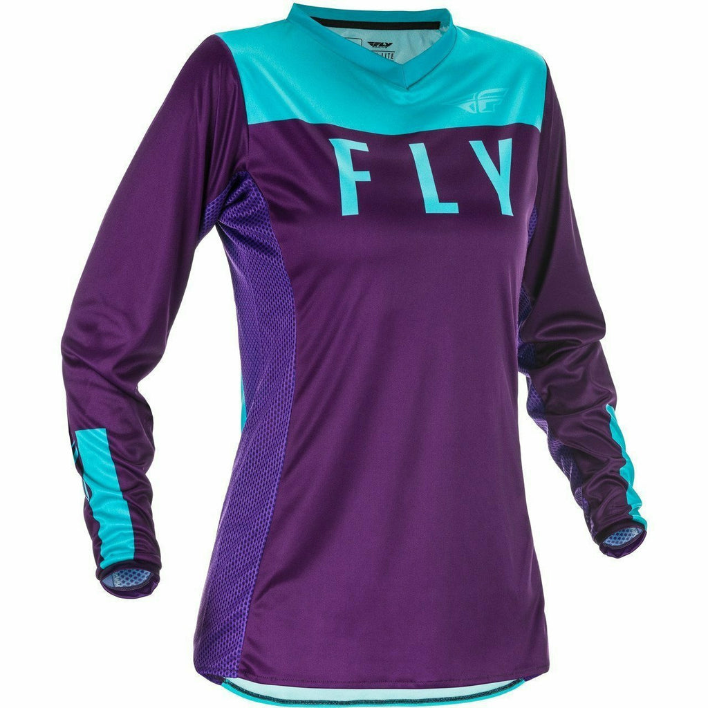 Fly Racing W Lite Jersey 21 Fly Racing 2021 PURPLE/BLUE 2X