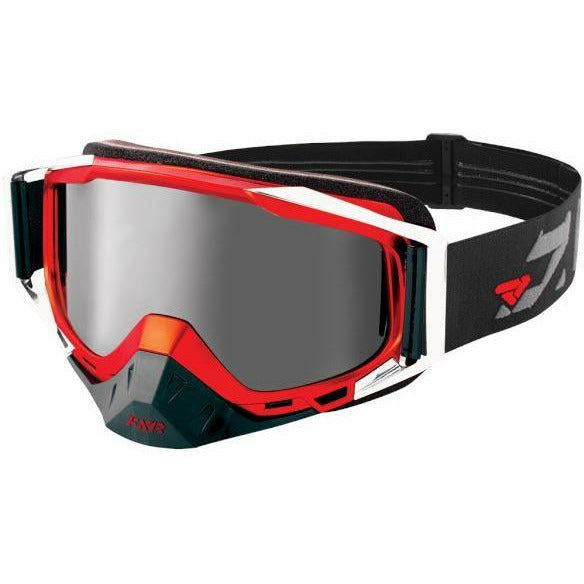 FXR Core Speed Goggle | Clearance Goggles FXR Black/Red/Char OS