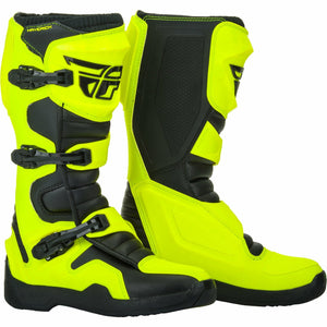 Fly Racing Maverick Moto Boots Footwear Fly Racing HI-VIS/BLACK 14