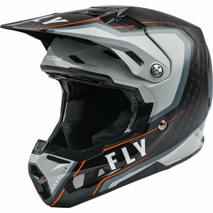 Fly Racing Formula Carbon Axon Helmet 21 Helmet Fly Racing BLACK/GREY/ORANGE 2X