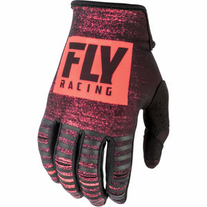 Fly Racing Kinetic Noiz Gloves Gloves Fly Racing NEON RED/BLACK 04