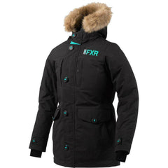 FXR Svalbard Woman's Parka 2020 Jacket FXR 2020 Black/Mint 2